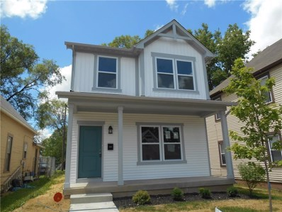 1814 S Delaware Street, Indianapolis, IN 46225 - #: 21662886