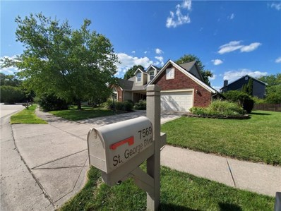 7560 St George Blvd, Fishers, IN 46038 - #: 21664969