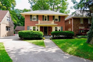 5911 N Central Avenue, Indianapolis, IN 46220 - #: 21665775