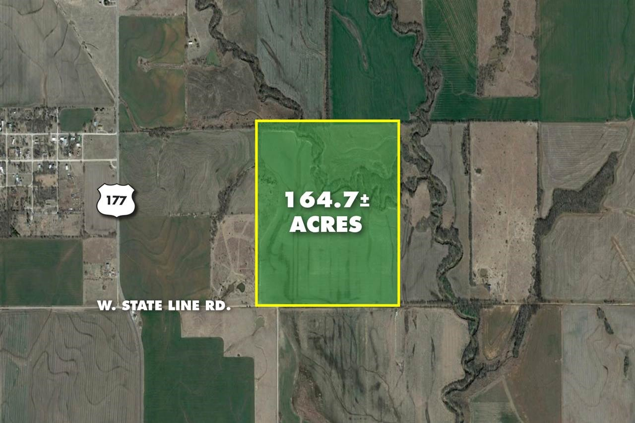 164.7 +/- Acres W. State Line Rd.