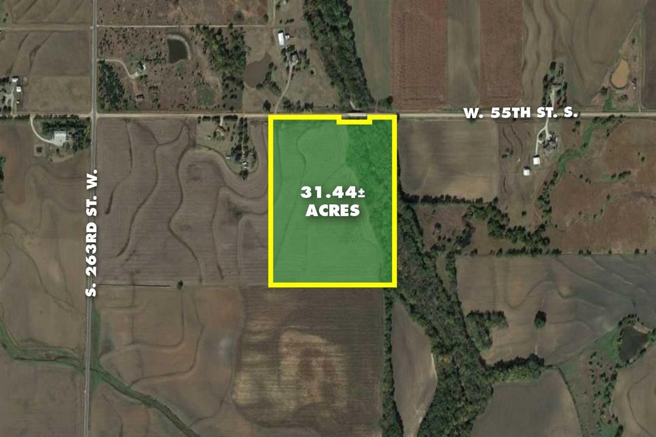 31.44 +/- Acres @ 263rd & 55th