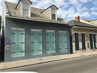 523 Burgundy Street UNIT 2, New Orleans, LA 70112 - MLS#: 2124495