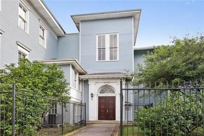 4716 Annunciation Street UNIT 1B, New Orleans, LA 70115 - MLS#: 2149477