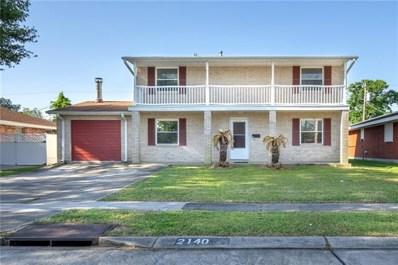 2140 Euclid Street, Terrytown, LA 70056 - MLS#: 2150531