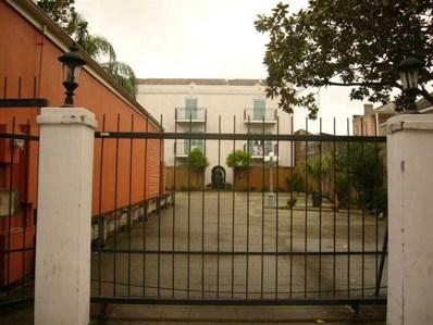 1022 Toulouse Street UNIT PC21, New Orleans, LA 70112 - MLS#: 2152696