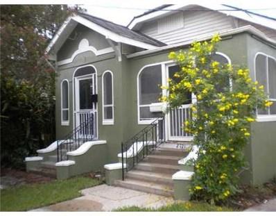 2723 Burdette Street, New Orleans, LA 70125 - #: 2157366