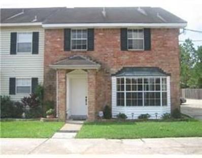 33 Brandon Hall Drive UNIT D, Destrehan, LA 70047 - MLS#: 2160641