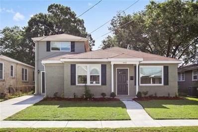 641 E William David Parkway, Metairie, LA 70005 - MLS#: 2163298