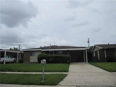 1313 Clyde Drive, Marrero, LA 70072 - MLS#: 2165724