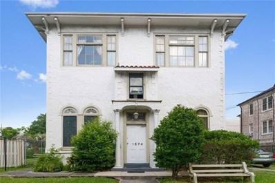 1574 Jefferson Avenue, New Orleans, LA 70115 - #: 2165852