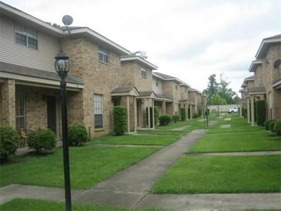 126 Lakewood 54 Drive UNIT 54, Luling, LA 70070 - MLS#: 2165921