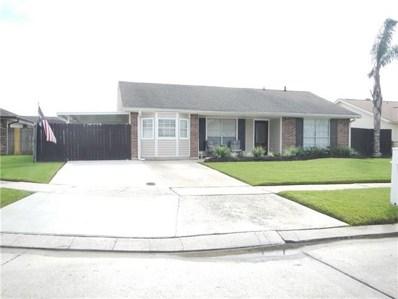 2705 Collette Drive, Marrero, LA 70072 - MLS#: 2171859