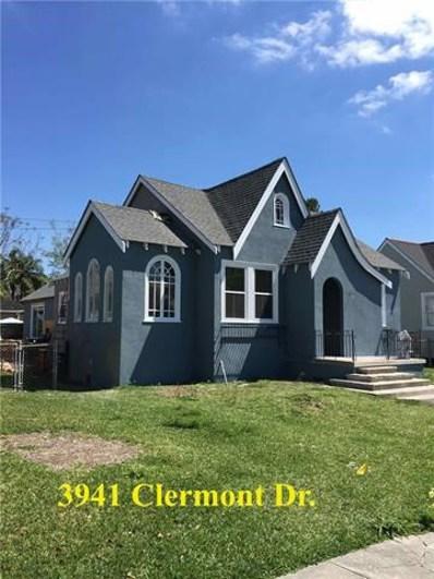 3941 Clermont Drive, New Orleans, LA 70122 - #: 2176416