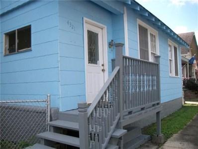 4321 General Ogden, New Orleans, LA 70118 - MLS#: 2176540