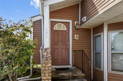 190 Avant Garde Circle UNIT 190, Kenner, LA 70065 - MLS#: 2178596