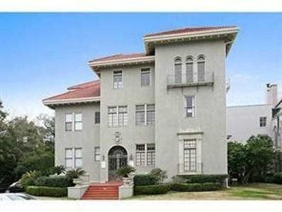 5912 St Charles Avenue UNIT H, New Orleans, LA 70118 - #: 2178800