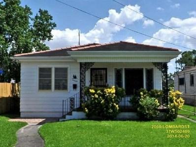 2060 Lombard Street, New Orleans, LA 70122 - MLS#: 2182011