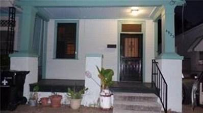 4923 Tchoupitoulas Street, New Orleans, LA 70115 - MLS#: 2185582