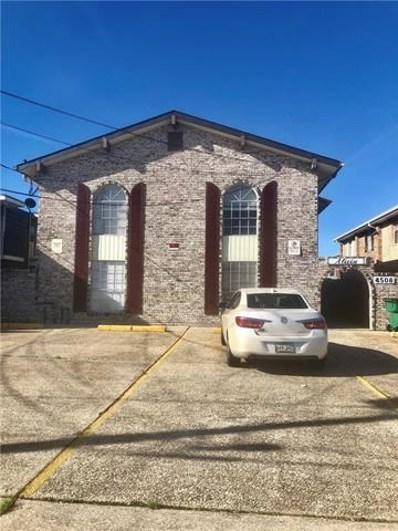 4508 Laplace Street UNIT C, Metairie, LA 70006 - #: 2186537