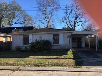 4408 Ellen Street, Jefferson, LA 70121 - MLS#: 2186965