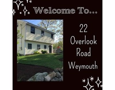 22 Overlook Rd, Weymouth, MA 02189 - #: 72331654