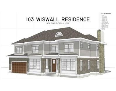 103 Wiswall Rd, Newton, MA 02459 - #: 72344415