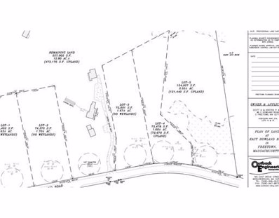 46 East Howland Road Lot 3, Freetown, MA 02717 - #: 72360427