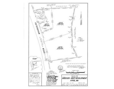 Lot 2 Petersham Road, Athol, MA 01331 - #: 72374164