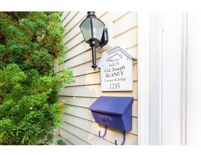 159 Elm Street UNIT 1, Marblehead, MA 01945 - #: 72381985