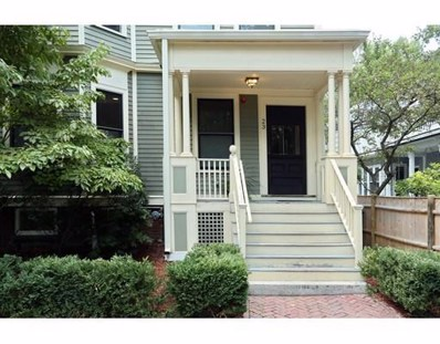 23 Ellsworth Avenue UNIT 1, Cambridge, MA 02139 - #: 72389371