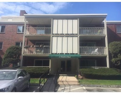 22 Hamilton Road UNIT 105, Arlington, MA 02474 - #: 72398842
