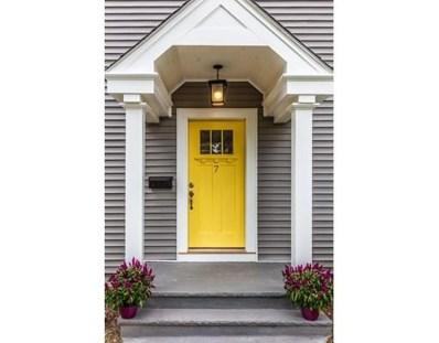 7 Kipling Rd, Arlington, MA 02476 - #: 72401293