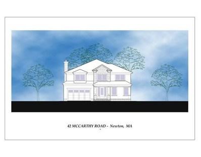 42 McCarthy Rd, Newton, MA 02459 - #: 72415077