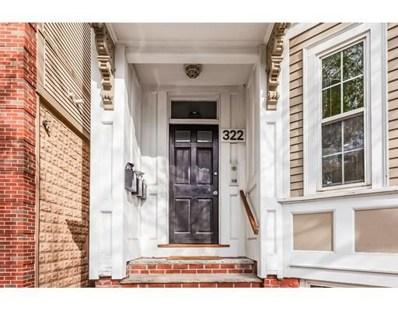 322 W 3RD Street UNIT 1, Boston, MA 02127 - #: 72420749