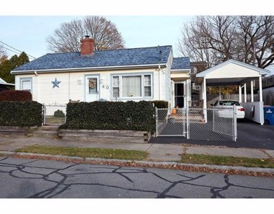 40 Cornell St, New Bedford, MA 02740 - #: 72423037