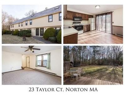 23 Taylor Court UNIT 23, Norton, MA 02766 - #: 72441426