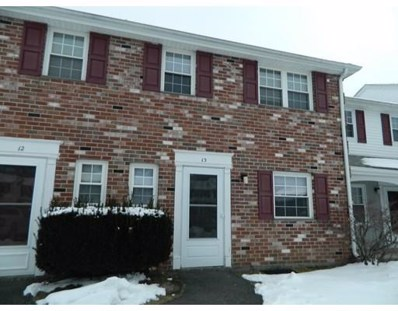 50 Meadow St UNIT 13, Amherst, MA 01002 - #: 72455582