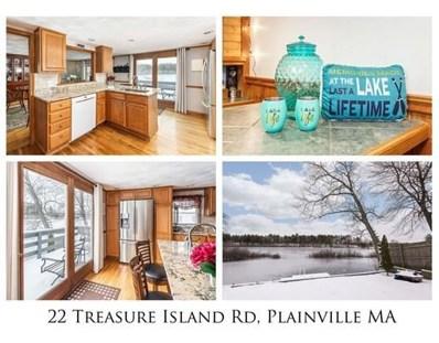 22 Treasure Island Road, Plainville, MA 02762 - #: 72456150