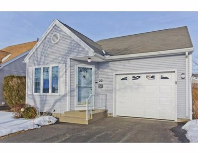 22 Alvord Place UNIT 22, South Hadley, MA 01075 - #: 72457365