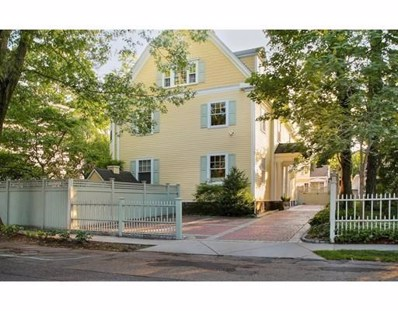 15 Channing Street, Cambridge, MA 02138 - #: 72458004