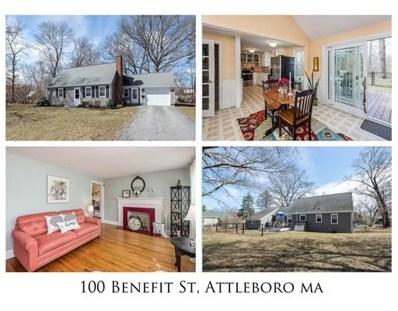 100 Benefit St, Attleboro, MA 02703 - #: 72470762