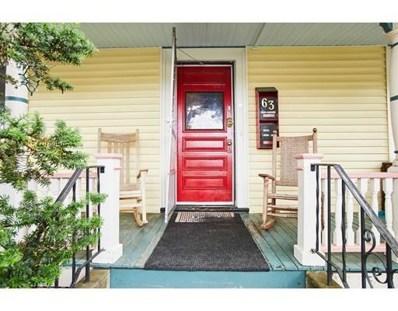 63 North Union Street, Arlington, MA 02474 - #: 72519437