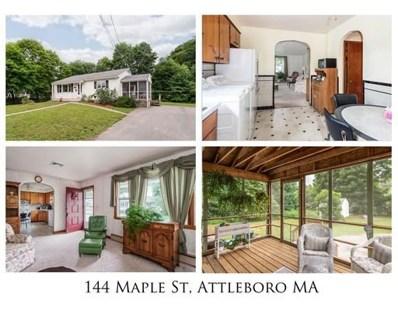 144 Maple Street, Attleboro, MA 02703 - #: 72522470