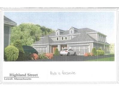 44 Highland Street UNIT 3, Lowell, MA 01852 - #: 72537889