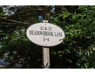 15 Meadowbrook UNIT U4, Easton, MA 02375 - #: 72547436