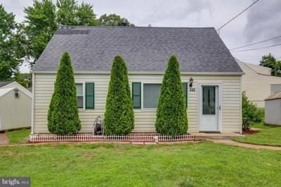 232 Cabbel Drive, Manassas Park, VA 20111 - MLS#: 1000031569