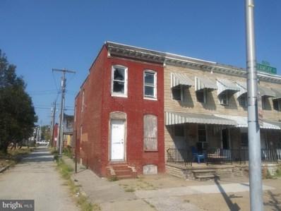 1914 Ramsay Street, Baltimore, MD 21223 - #: 1000040539