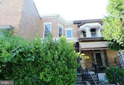 1522 Poplar Grove Street, Baltimore, MD 21216 - MLS#: 1000040565
