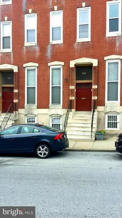 924 Fulton Apt.A Unit O Avenue N, Baltimore, MD 21217 - MLS#: 1000040759