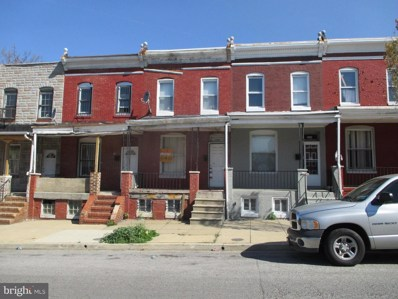 2156 Hollins Street, Baltimore, MD 21223 - #: 1000040763